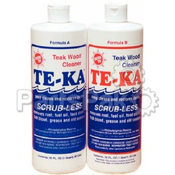 Marine Tex RM341K; Te-Ka Teak Cleaner 1/2 Gallon Kit (part A = 32 oz; part B = 32 oz); LNS-185-RM341K