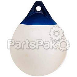 Polyform A6W; 34 White Net Buoy