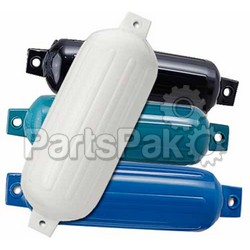Polyform G1B; 3.5 Inch X 13 Inch Twin Eye Fender Blue; LNS-218-G1B