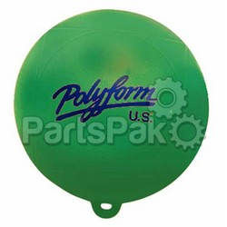 Polyform WS1GR; Water Ski Bouy Green