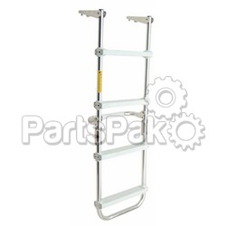 Garelick 12150; Pontoon Deck Ladder 24 Step-