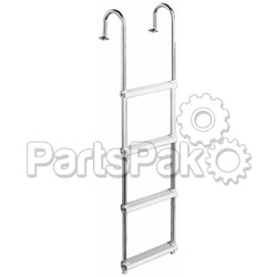 Garelick 15230; 3-Step Pontoon Ladder-
