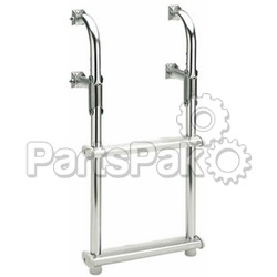 Garelick 18018; 3 Step Folding Transom Ladder-