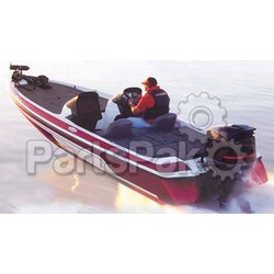 Carver Covers 77220P; Boat Cover 20 Wide Bass Boat Poly; LNS-500-77220P