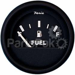 Faria 12801; Euro Fuel Level Gauge E-1/2-F