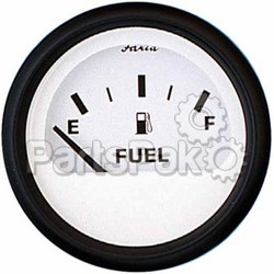 Faria 12901; Fuel Level Euro White. Series