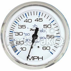 Faria 33819; 80 Mph Speed Chesapeake Stainless Steel Wh