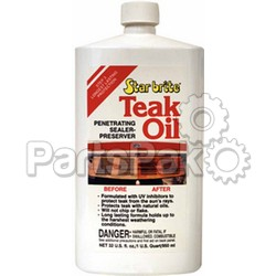 Star Brite 81632; Teak Oil Quart; LNS-74-81632