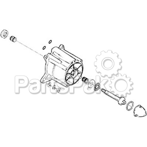 WSM 003-627; Pump Repair Kit Yam