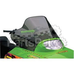 PowerMadd 10223010; Cobra Windshield Arctic Cat Smk / Blk Snowmobile