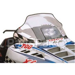 PowerMadd 10113012; Cobra Windshield Indy Clear Snowmobile