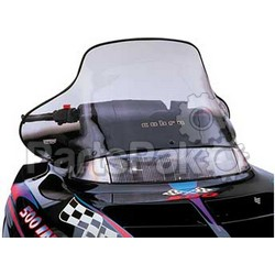 PowerMadd 10133010; Cobra Windshield Indy Black Snowmobile
