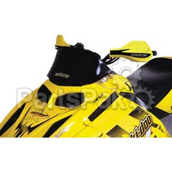 PowerMadd 10302011; Cobra Windshield Ski-Doo SkiDoo Rev Sol Blk Low