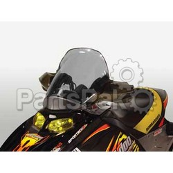 PowerMadd 10304012; Cobra Windshield Ski-Doo SkiDoo Rev Smk / Blk High