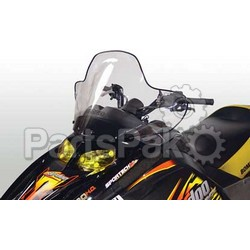 PowerMadd 10304010; Cobra Windshield Ski-Doo SkiDoo Rev Smk / Black High
