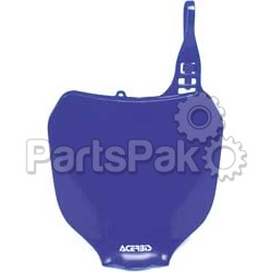 Acerbis 2042380003; Front Number Plate (Yz Blue)