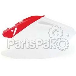 Acerbis 2043290002; Side Panels (White / Red)
