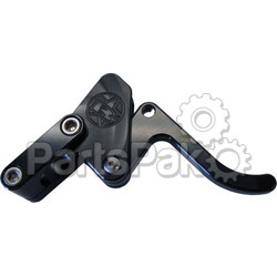 Blowsion 03-05-201; Billet Throttle Lever (Black)