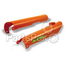 Acerbis 2113740237; Lower Fork Cover Set (Orange)