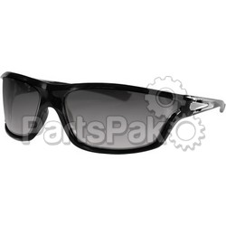 Bobster EZFL01C; Florida Sunglass Black Clear Lens