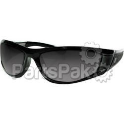 Bobster EZIA01C; Iowa Sunglass Black Clear Lens