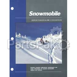 Clymer Manuals SMS11; Service Manual - 11Th Edition Snow