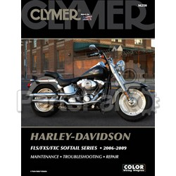 Clymer Manuals M250; Harley Davidson Soft Tail Motorcycle Repair Service Manual
