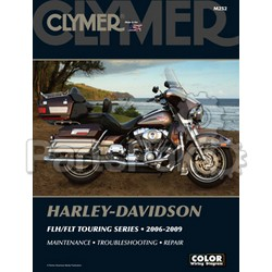 Clymer Manuals M252; Harley Davidson Flh / Flt Motorcycle Repair Service Manual