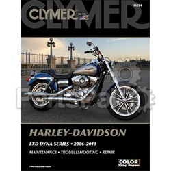 Clymer Manuals M254; Harley Davidson Dyna Motorcycle Repair Service Manual