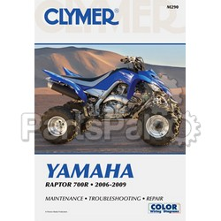 Clymer Manuals M290; Clymer Manual Yamaha YFM700R Raptor 700 2006-2009