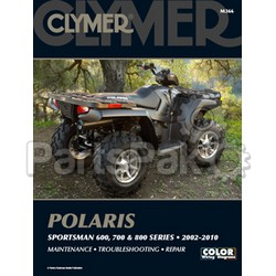 Clymer Manuals M366; Polaris Sportsman 600/700/800 02-10 Repair Manual