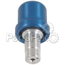 Modquad BV-1BL; Billet Gas Cap Breather (Blue)