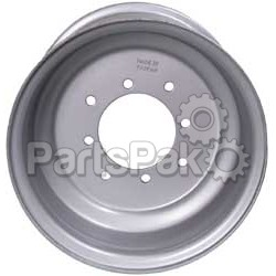 ITP (Industrial Tire Products) 11641F; Steel Wheel 11X6 4-110 4+2