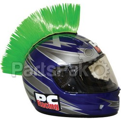 PC Racing PCHMGREEN; Helmet Mohawk (Green)