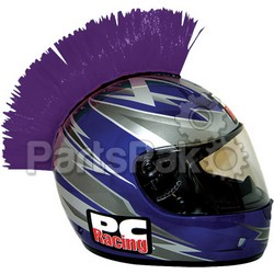 PC Racing PCHMPURPLE; Helmet Mohawk (Purple)