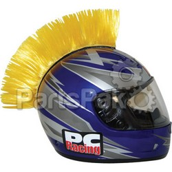 PC Racing PCHMYELLOW; Helmet Mohawk (Yellow)