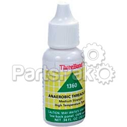 ThreeBond 1360AT003; Medium Strength Hi-Temperature Thread Lock 10Ml; 2-WPS-59-9112