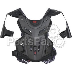 EVS F2BK-S; F2 Chest Protector Black Sm