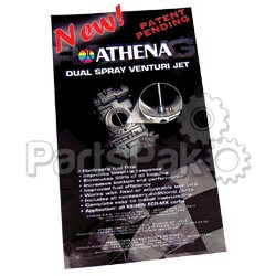Athena P400000180002; Dual Spray Venturi Jet Kit Keihin Fcr All; 2-WPS-68-4620