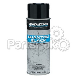 Mercury - Mercruiser 92-802878Q 1; W PAINT PHNTM BLK CS/6 QUICKSILVERPKG, Boat Marine Parts