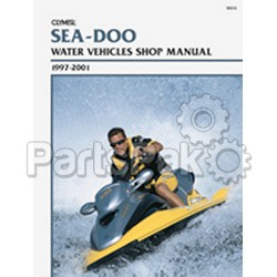 Clymer Manuals W810; 1997-2001 Seadoo PWC Jet ski Service Repair Manual