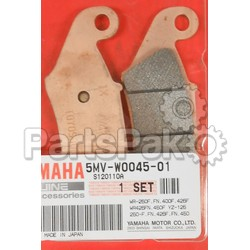 Yamaha 5MV-W0045-00-00 Brake Pad Kit; New # 5MV-W0045-01-00; YAM-5MV-W0045-00-00