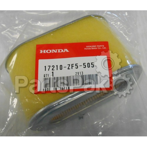 Honda 17210-ZF5-505 Element, Air Cleaner; 17210ZF5505