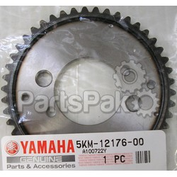 Yamaha 5KM-12176-00-00 Sprocket, Cam Chain; 5KM121760000