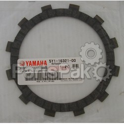 Yamaha 583-16321-00-00 Plate, Friction; New # 5Y1-16321-00-00; YAM-583-16321-00-00