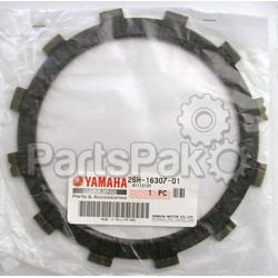 Yamaha 26H-16307-01-00 Plate, Friction 3; 26H163070100