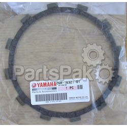 Yamaha 26H-16321-01-00 Plate, Friction; 26H163210100