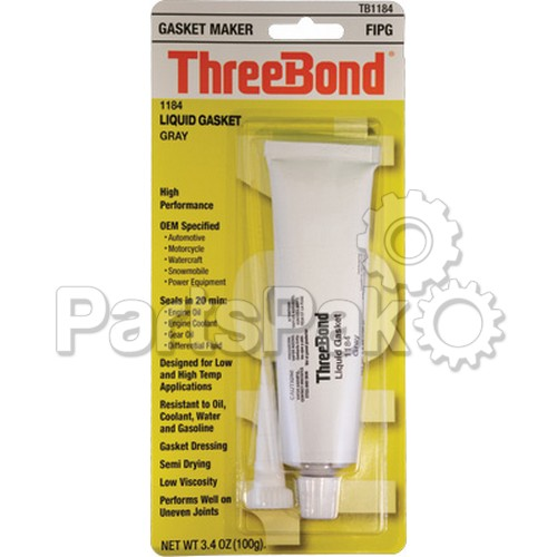 ThreeBond TB1184; Liquid Gasket 1184 3.5Oz