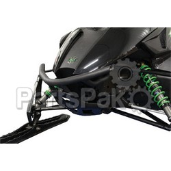Skinz ACRB400-FBK; Bumper Rear Arctic Cat Natural Procross 128