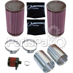 Modquad RZR-AF1-XP; Air Filter Kit Rzr Xp K&N; 2-WPS-28-44025